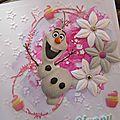 Olaf party... la carte...