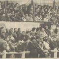 Les tribunes de Mourennes en 1983