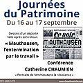 16-17 septembre 2017 à viens: journées du patrimoine à la chapelle saint ferréols par madame catherine chaumien