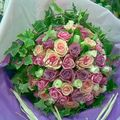 Bouquet rond Romantique