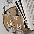 Deux <b>marque</b>-<b>pages</b> par Fred Littlecat