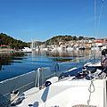 Croisière en voilier de <b>Trogir</b> à Rab (Croatie) AR - 13 au 20 avril 2019 - Cruise from <b>Trogir</b> (Croatia) to Rab (Croatie)