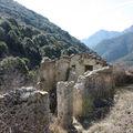 La ruine du vallon de Verroux