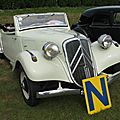 Citroën Traction 11B <b>cabriolet</b> (1937-1939)