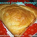 chaussons jambon-fromage
