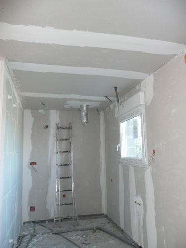 plafond cuisine fini