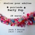 Atelier party pop