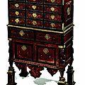 Cabinet, goa, xviième siècle