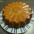 Gâteau aux noisettes et aux amandes