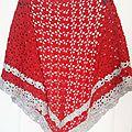 Modèle n°67 : châle pour ma grand-mère : le châle south bay shawlette