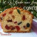 Cake aux fruits confits de sophie dudemaine et photos et vidéo pour chemiser un moule à cake