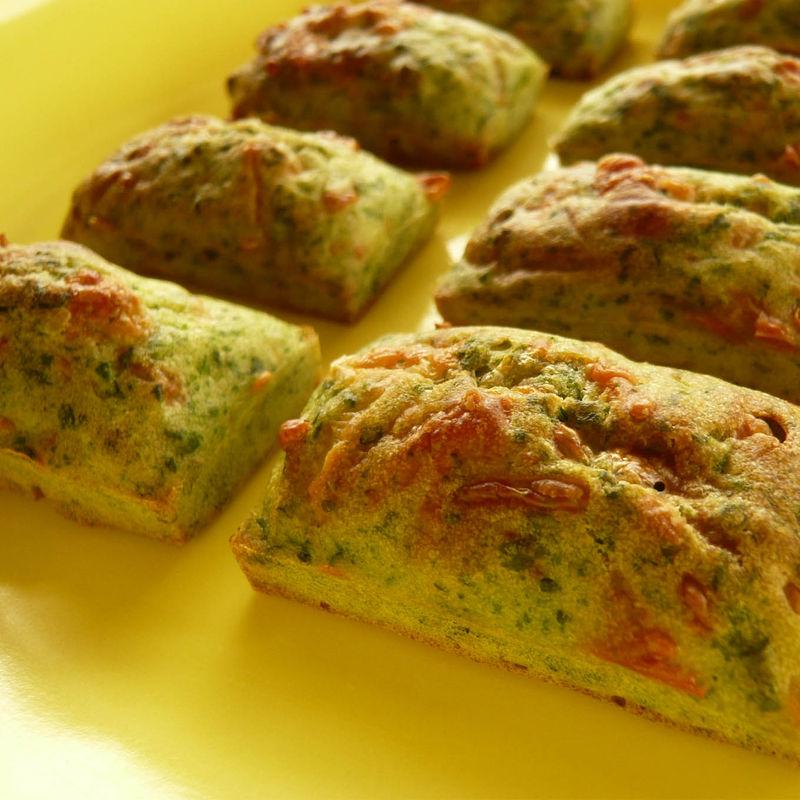 muffins épinard