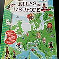 Mon atlas de l'europe