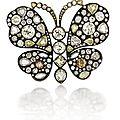 An Impressive Diamond <b>Butterfly</b> Brooch