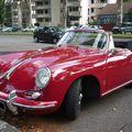 PORSCHE 356 S Coupé cabriolet Strasbourg - Palais des Congrès (2)
