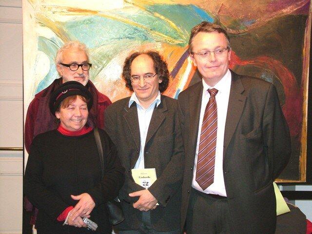 Ballouhey, Françoise, Saïd Mohamed et Jean-Michel Revol