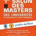 [<b>Université</b>] Salon des Masters des <b>universités</b> d'Avignon et d'Aix-Marseille - 23 et 24 mars 2010