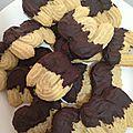 Biscuits Viennois également appelés <b>Sprits</b>