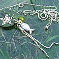 collier Dans l'étang