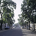 Tchad - Formation agricole et rurale (16/18). Restaurants de N'Djamena.