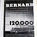 BERNARD AUTOCAR <b>1931</b> PUBLICITE ANCIENNE AU 10