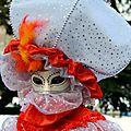 Carnaval vénitien annécien (6) touche d'orange...