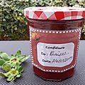 Confiture de <b>fraises</b> au thermomix (ou robot cuiseur)