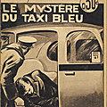 Le mystère du taxi bleu