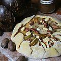 Tarte rustique à la poire, noix de pécan et 7 parfums