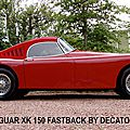 fastback petite marc-gordon-jaguar xk 150,jaguar xk 150 roadster,jaguar xk 150 ots,jaguar xk,decatoire