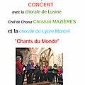 Aveyron...Chorales en l'église de Mousset dimanche 25 juin et autres manifestations