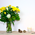 Des fleurs pour la fête des mères avec interflora