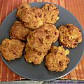 Cookies aux tomates séchées et aux crevettes