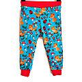 Pantalon Mixte 24 mois <b>Leggings</b> Fille ou Garçon Jersey de Coton Renards et Coccinelle Turquoise
