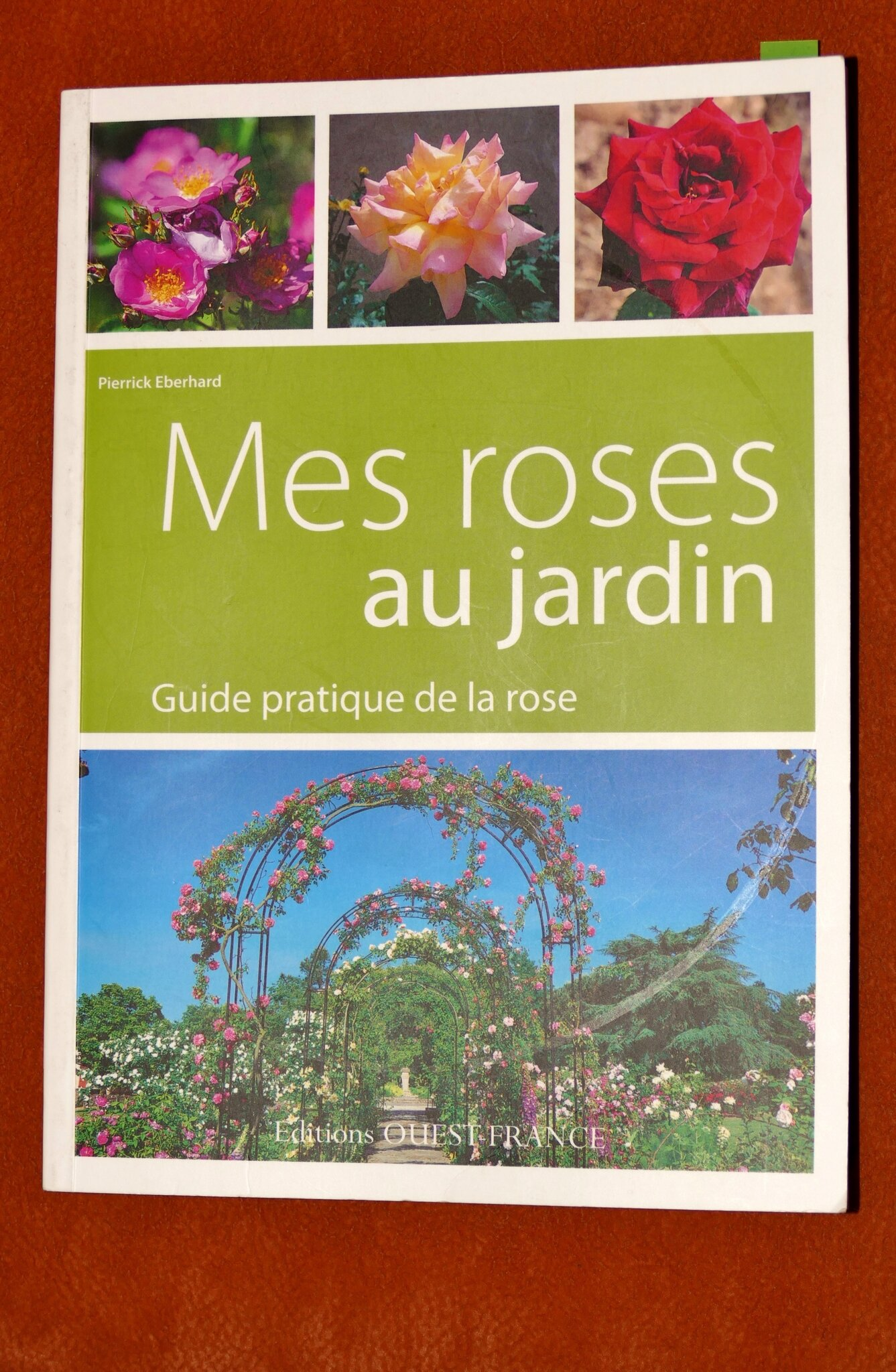 Livre: Mes roses au jardin