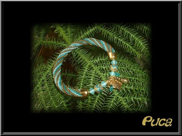 Spirale turquoise