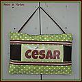 Coussin de porte César