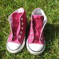 Converse all star framboise - taille 7