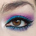 Blue Purple Makeup