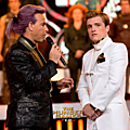 Caesar and Peeta Catching Fire