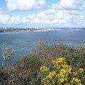 Brest vu de la pointe des Espagnols