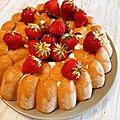 Recette de charlotte express aux fraises