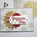 Carte : joyeuses fêtes