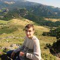 2008 08 21 Cyril au sommet du Mont Mézenc
