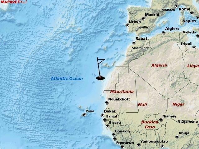 bateau maroc cap vert
