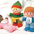 Baby Girl and Boy, Pixie Tooth - <b>Little</b> <b>Gift</b> <b>Dolls</b> - Jean Greenhowe