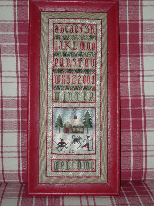Welcome Winter -Drawn Thread 2001