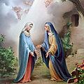 LA VISITATION DE LA VIERGE MARIE (fête le 31 mai)