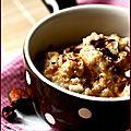 Autour d'un porridge d'avoine...