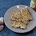 Crackers aux <b>graines</b>